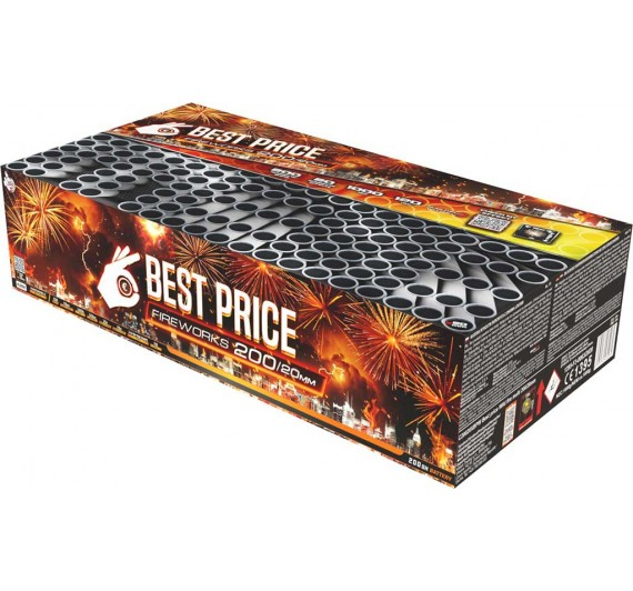 C20020XBPW Best price Wild fire multi - 200 šūv., 120 s., 20 mm.